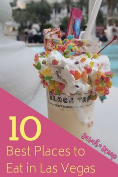 10 Best Places to Eat Las Vegas - Sarah Scoop Source by icelollyholiday Las Vegas Eats, Las Vegas Food, Las Vegas With Kids, Best Food In Vegas, Vegas Fun, Best Restaurants In La, Las Vegas Restaurants, Best Las Vegas Hotels, Birthday In Las Vegas