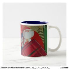 Shop Christmas Holidays by Janz Santa Claus Coffee Mug created by _LOVE_SHACK_. Christmas Coffee, Santa Christmas, Christmas Shopping, Christmas Presents, Work Gifts, Presents For Him, Grandma Gifts, Holidays And Events, Coffee Mugs