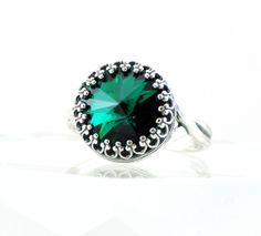 Green Light Rings right hand rings
