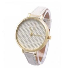 Jam Tangan Quartz Analog Vogue Fashion WanitaGelang Kulit Motif Print Warna  Netral Women s Watches 0b5dce75d5