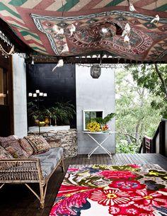 Tapestried furniture