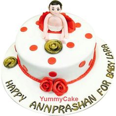 Order #AnnaprashanCeremonyCakes, It's marks the beginning of solid food in your baby's life #Faridabadcake