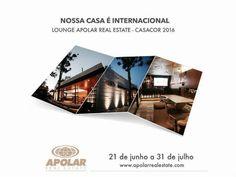 Apolar terá espaço Open Bar Miami na Casa Cor 2016