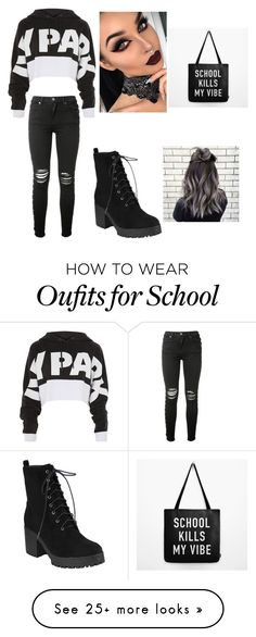 """My First Polyvore Outfit"" by staffordpaige on Polyvore featuring Ivy Park and AMIRI"