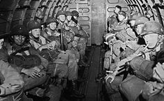 More than 13,000 American paratroopers jumped into Normandy in the early hours of June 6, 1944. Anti-aircraft fire and cloud cover prevented most of them from landing in the right place. Pin by Paolo Marzioli