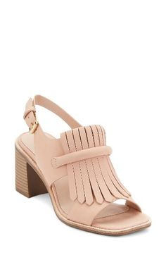 G.H. Bass & Co. G.H. Bass & Co. Reagan Kiltie Fringe Sandal (Women) available at #Nordstrom