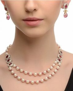 its ok pearl and ruby beads
