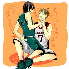 Kuroko's Basketball (Kuroko no Basuke) - Teppei Kiyoshi x Makoto Hanamiya - KiyoHana