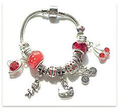 Hello Kitty Storybead Bracelet by JannysStorybeads on Etsy, $40.00