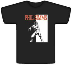 Phil Simms NY Legend #Football Cool New York Black Shirt