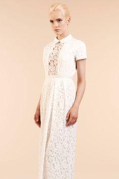 Robe de mariée Carven, disponible à l'espace Maria Luisa Mariage du Printemps