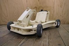 Plywood go kart - with one of those harbor freight engines this should be doable