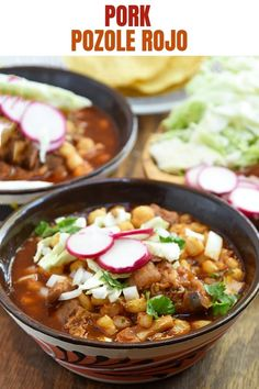 Authentic Pozole Rojo is hearty, tasty, and the ultimate comfort food. This Mexican pork and hominy stew makes a satisfying meal for holidays and year round. #Mexicanfood #soup #hominysoup #pozole #pork Pozole Recipe Pork, Pazole Recipe, Sausage Recipes, Pork Recipes, Carne Asada, Hominy Soup, Latin Food, Mexican Dishes, Mexican Food Recipes