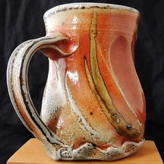 Ruthanne Tudball  |   Altered & soda-glazed mug.