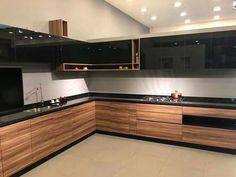 Kitchen Cupboard Designs, Kitchen Room Design, Kitchen Interior Design Decor, Kitchen Decor, Modern Kitchen Cabinet Design, Kitchen Design, Kitchen Design Color, Kitchen Furniture Design, Kitchen Pantry Design