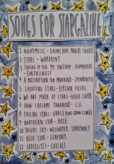 Friday Playlist: Songs for Stargazing - Rookie