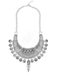 Yoins Yoins Turkish Palace Fashion Coin Pendant Necklace ($8.17) ❤ liked on Polyvore featuring jewelry, necklaces, silver, coin jewelry, fake jewelry, vintage pendant necklace, pendants & necklaces and red jewelry