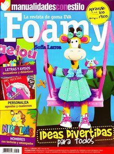 Revistas de manualidades Gratis: Muñecos 3D