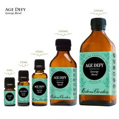 Age Defy is rich, active anti-aging blend of powerful essential oils. It's formulated to protect & nourish skin while helping to reduce inflammation.