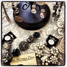 The Altered Diva Mix Match, Diva, Events, Vintage, Shopping, Jewelry, Style, Fashion, Swag