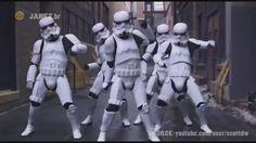 Star Wars' Stormtroopers twerkin' to JANET JACKSON's #BURNITUP ft. Missy Elliott #StarWarsTheForceAwakens