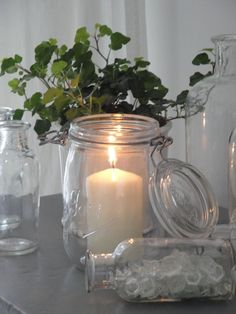 Reuse candle jars for candles @ www.scentofstyle.com.au