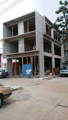 Casa 1,  calle tepic, vista principal concretos aparentes ,  indeco, xalapa