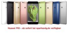 Huawei P10 (silber) ab sofort bei sparhandy.de verfügbar #kaufen #Huawei_P10