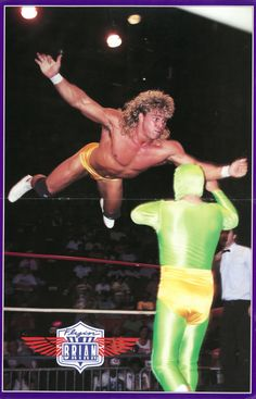 """""""Flyin'"""" Brian Pinup Poster - NWA Wrestling Wrap-Up [December 1989]A sneak peek of something I was working on today - you'll have the rest of this magazine uploaded sometime this week."""