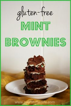 The Maestro's Famous Mint Brownies (Gluten-free!) Recipe can be altered for normal wheat flour as well, easy!