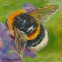 """BUMBLE BEE"" - Original Fine Art for Sale - © Brian Cameron"