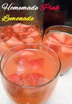 Homemade Pink Lemonade 3