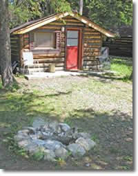 Whispering Pines Cabins...close to Yellowstone