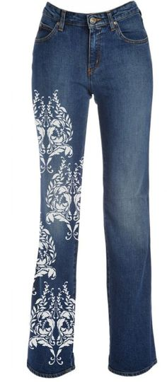 1000 images about jean decorating on pinterest painted jeans stencils and jeans. Black Bedroom Furniture Sets. Home Design Ideas