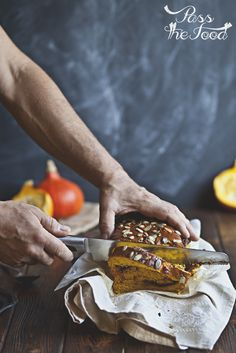 Pass the Food: nutella swirled pumpkin & brown butter bread