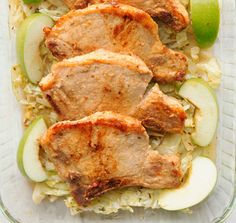 Easy Baked Pork Chops with Apples, Cinnamon, and Brown Sugar: Pork Chops With Apples