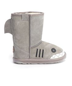Putty Little Creatures Shark #Boot by EMU Australia on #zulily