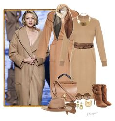 """""""Max Mara"""" by shadedlady ❤ liked on Polyvore featuring Isotoner, Sam Edelman, MaxMara, Burberry, Chloé, Tom Ford, Paul Smith, GUESS, Accessorize and H&M"""