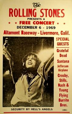 Altamont, The Rolling Stones, the Hells Angels, and the Inside Story of Rock's… – Rock Music Rock And Roll, Pop Rock, Rock N Roll Music, Dangerous Minds, Hells Angels, Janis Joplin, Jimi Hendrix, Altamont Concert, Album