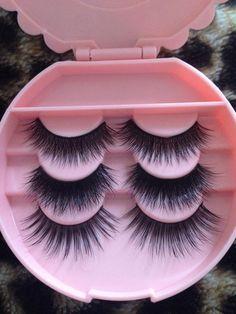 Mink Eyelash Set (3 Pairs) - Introductory Sample!, $25.00