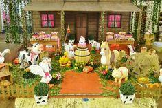 Fazendinha Outdoor Furniture Sets, Outdoor Decor, Birthdays, Table Decorations, Painting, Wedding, Home Decor, Art, Gardens