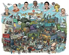 2013 reviewed in one heaping illustration. Nice.