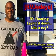 The process of laying down the floor is full steam ahead! I've prepped it… prepared it… ripped it… and now it's all about laying it…the flooring… down. Now I thought I was prepared for this task, b… Like Mike, Diy Rv, It's Going Down, News 2, Best Dad, Dads, Flooring, Songs, Youtube