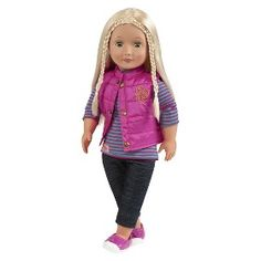 """Our Generation 18"""" Doll Outfit - Puffy Vest : Target Mobile"""