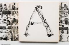 """Anthon Beeke """"Alphabet"""" Kwadraatblad, Steendrukkerij de Jong & Co, 1970"""