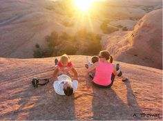 The views of Moab, Utah are absolutely incredible! Spend your vacation enjoying beautiful sunsets with your friends and family. Photo credit: Andy Thomas #highpointhummer #family