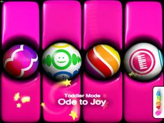 Do you like to play Ode to Joy on pink baby keyboard?  You can select any other color too ! :)