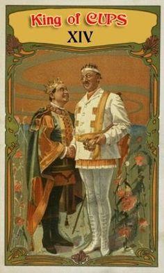 King of Cups - Vaudeville Tarot