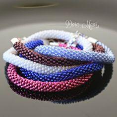 #bransoletki koralikowe #komplet #bransoletka #biżuteria #doramaar #dodatki