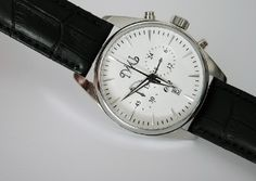 Quarz chronograph watch http://ilmiouomo.com/en/shopping/accessories/watches.html
